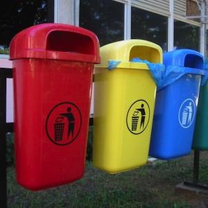 Установка емкостей для ращдельного сбора мусора в Перми