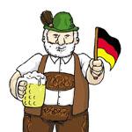мифы о немцах, немецкий язык