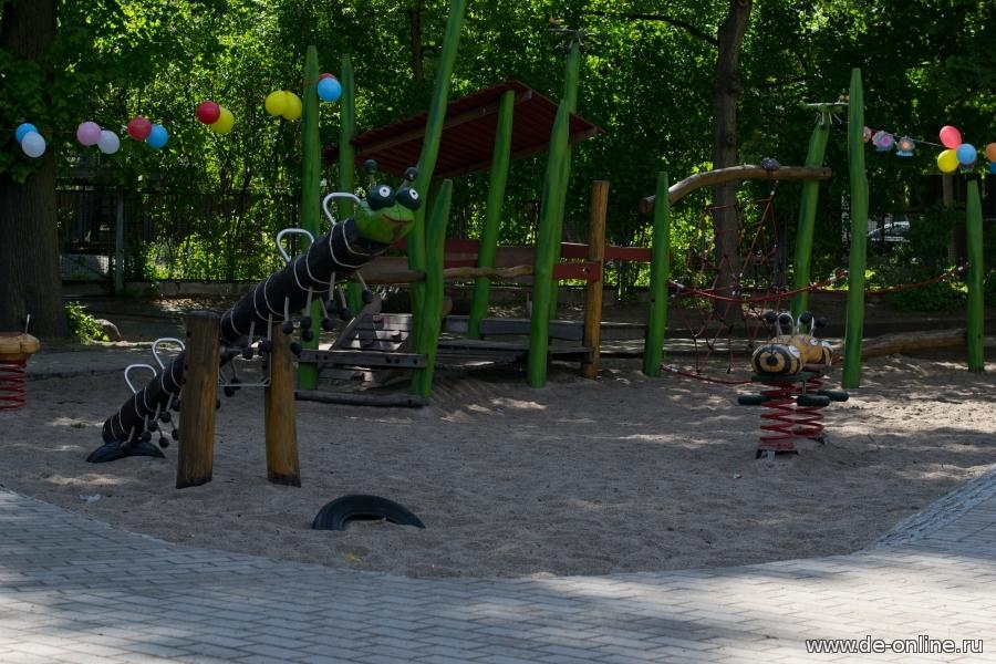 Правила пользования детскими площадками в детском саду