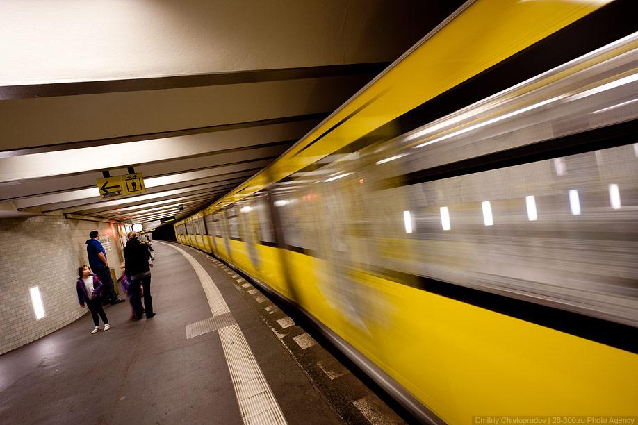 В берлинском метро