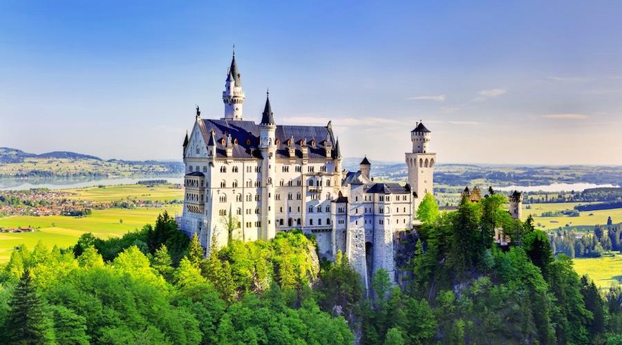 замок нойшванштайн schloss Neuschwanstein