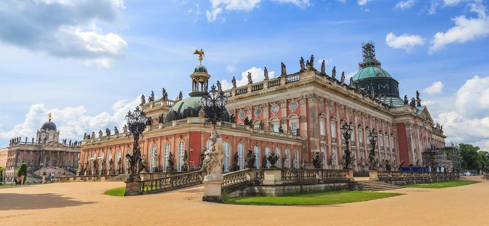 Sanssouci дворец