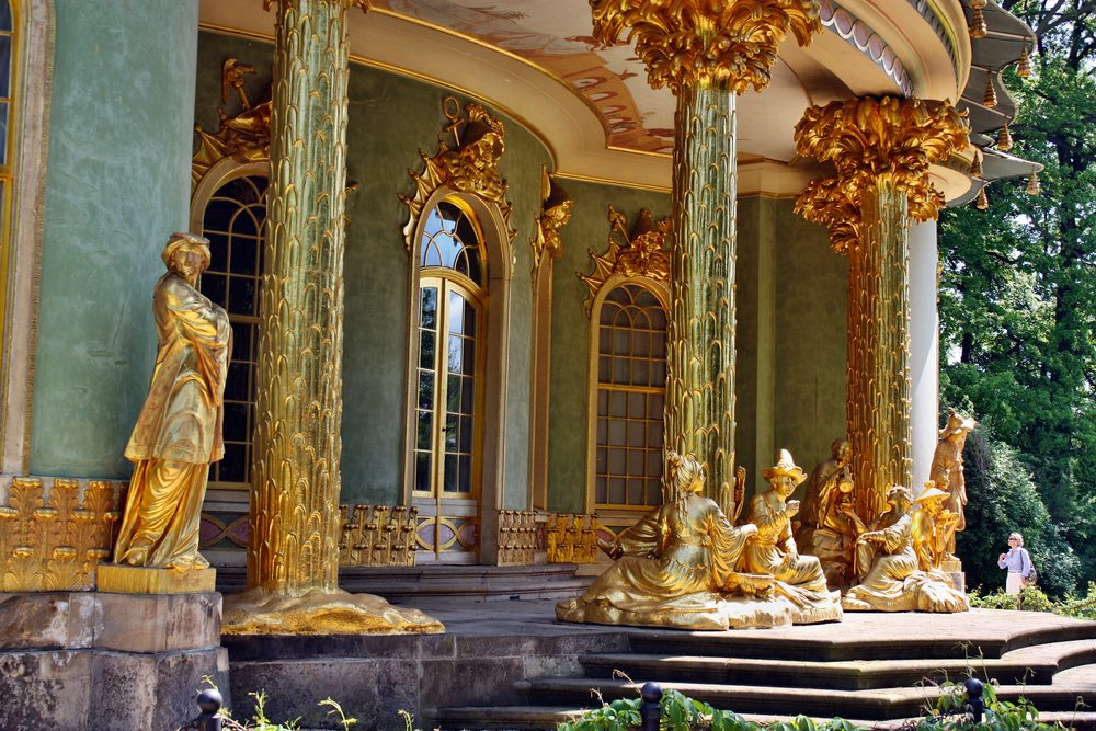 Китайский чайный домик Sanssouci сан суси