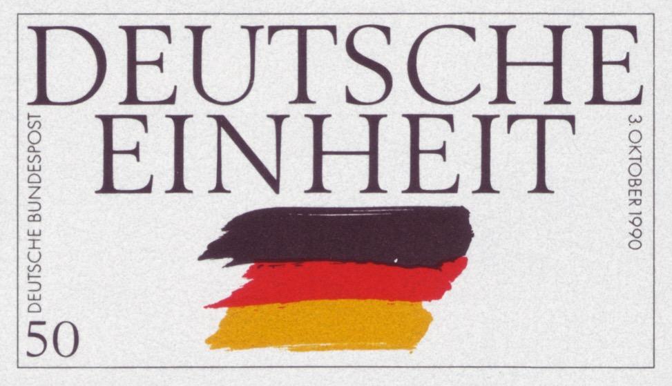 Открытка с днем германского единства