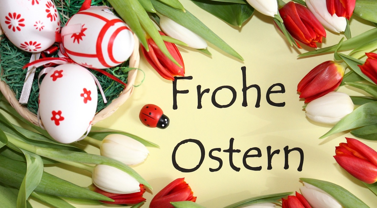Всегда, пасхальные открытки по немецкому языку