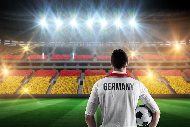Немецкая кричалка футбол