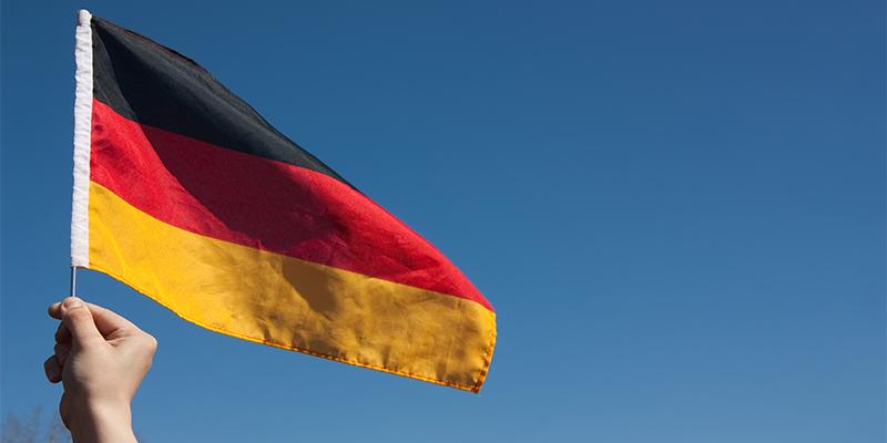 Немецкий флаг, фото