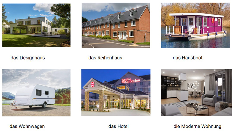 Фото типичных домов Германии