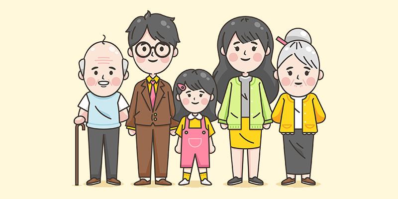 Семья, рисунок