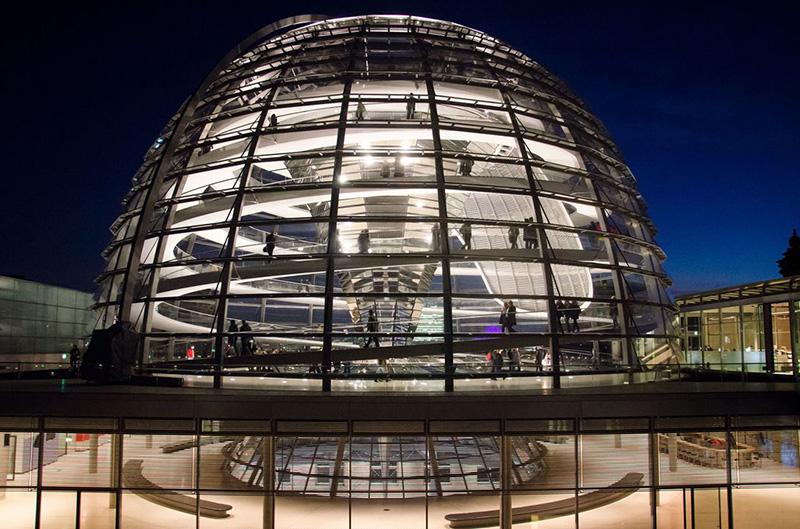 Купол Рейхстага, фото