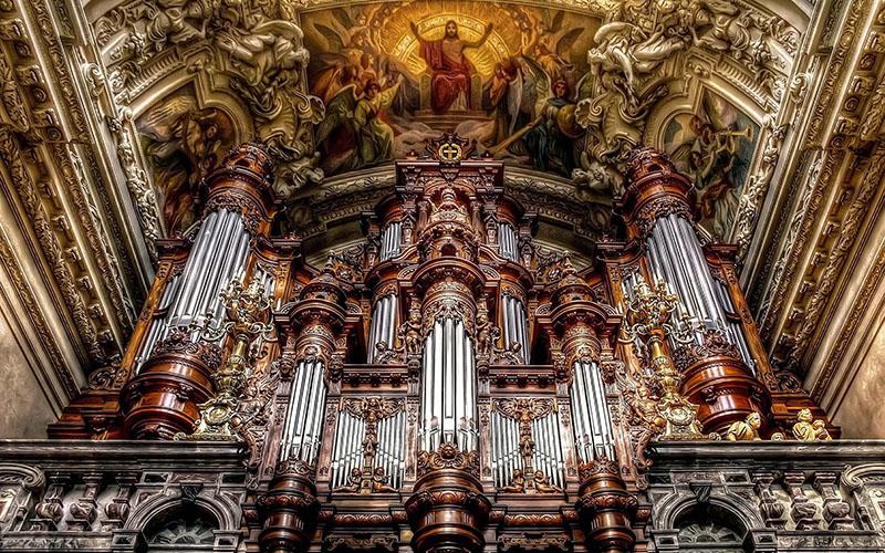 Орган Берлинского собора, фото