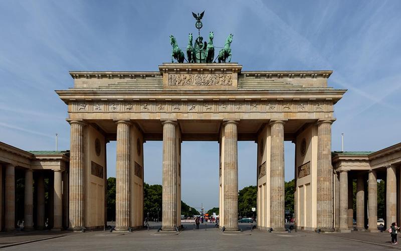 Бранденбургские ворота, фото