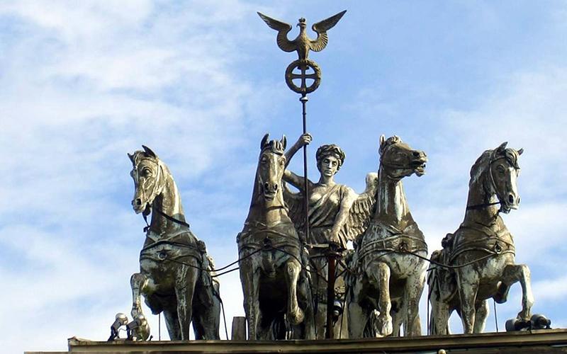 Статуя Бранденбургских ворот, фото