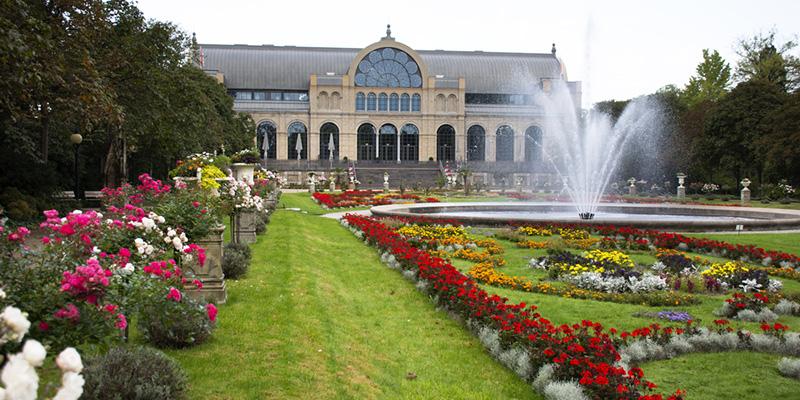 Ботанический сад Кёльна, фото
