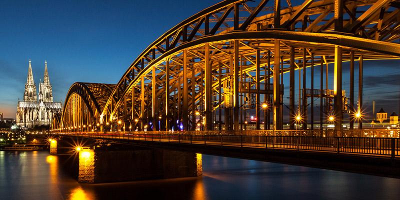 Мост Гогенцоллернов, фото