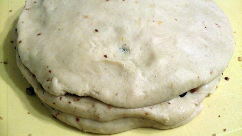 Тесто для штоллена, фото