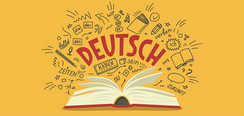 Изучение немецкого языка, рисунок