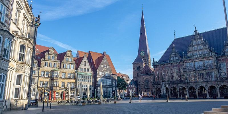 Рыночная площадь Бремена, фото