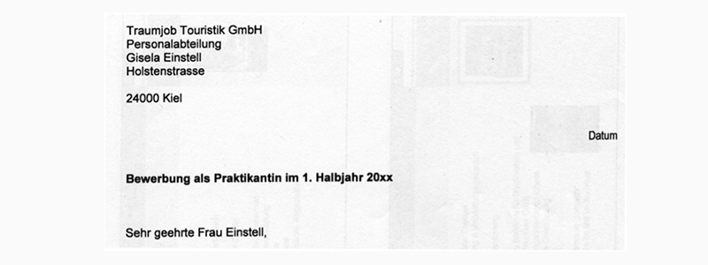 Образец резюме на немецком