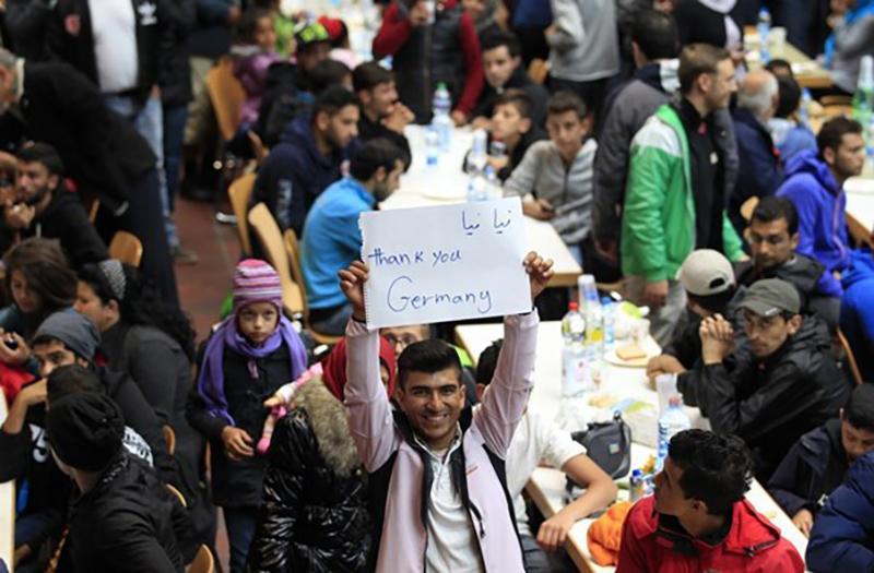 Беженцы, фото