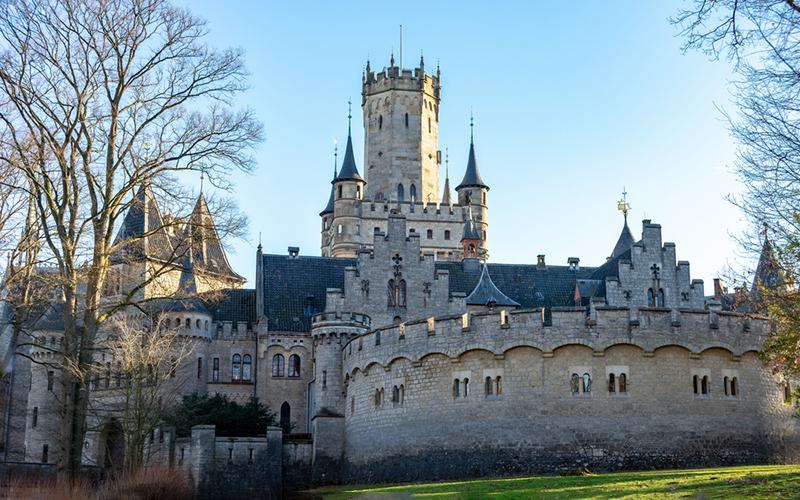 Замок Мариенбург, фото