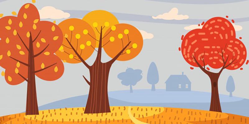 Осень, рисунок