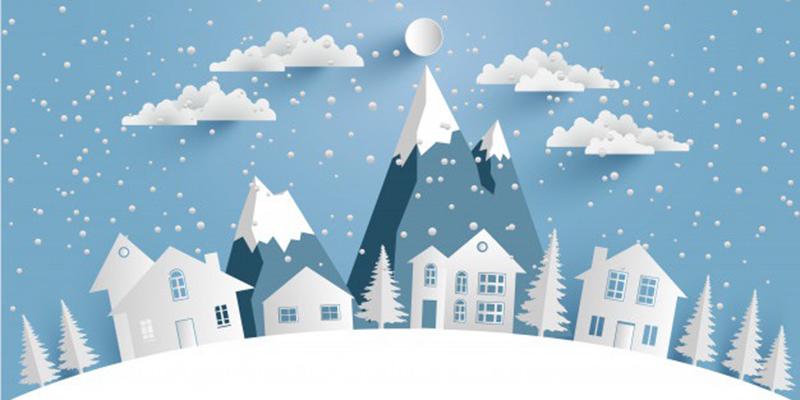 Зима, рисунок