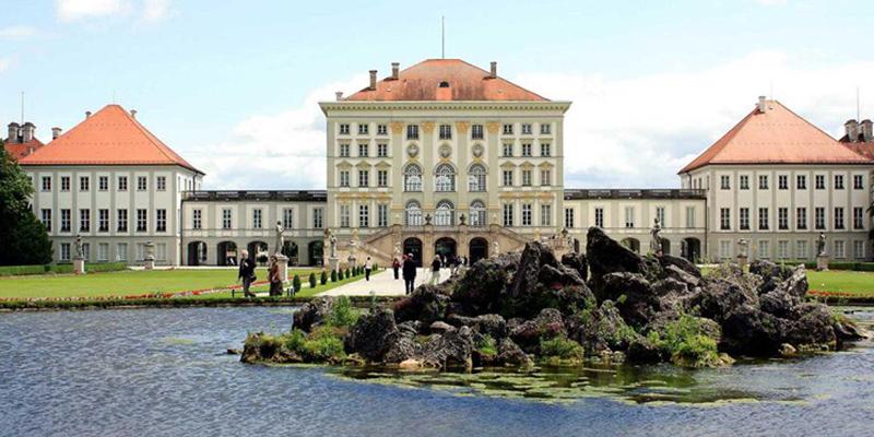 Замок Нимфенбург, фото