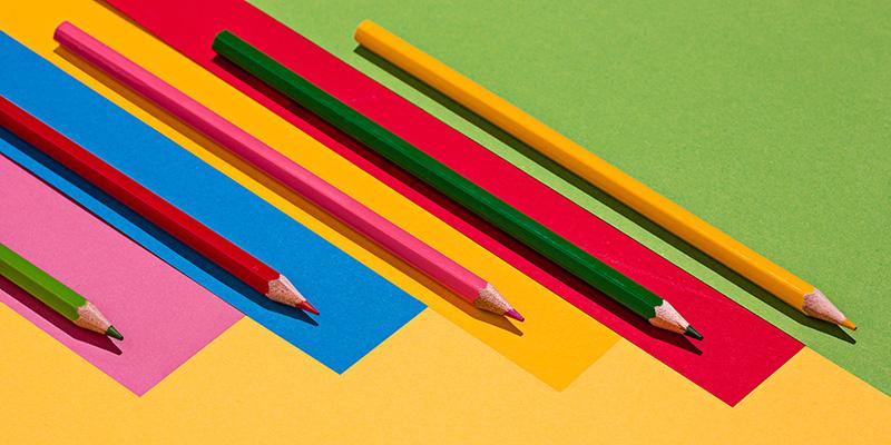Карандаши цветные, рисунок