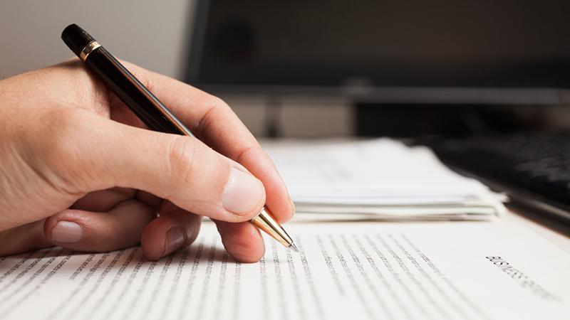 Рука, ручка, бумага, фото