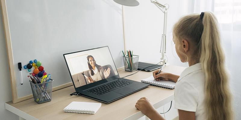Онлайн-урок, фото