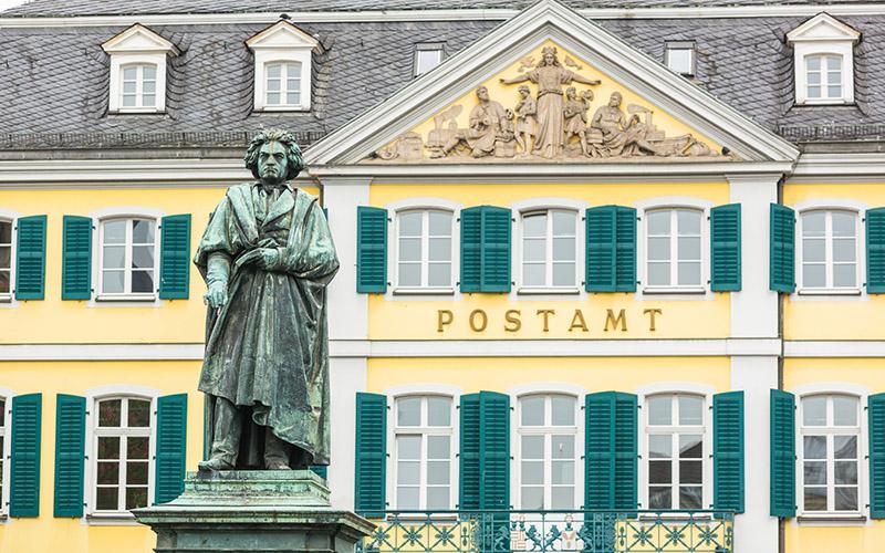 Памятник Бетховену, фото