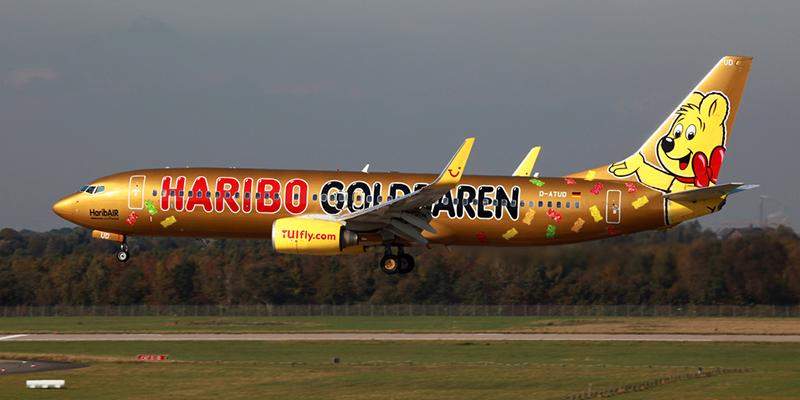 Самолет Haribo, фото