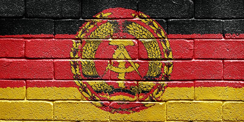 Флаг ГДР, рисунок