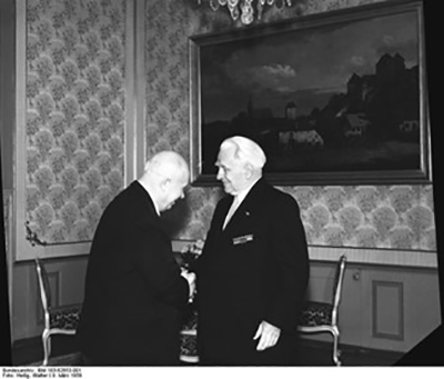 Пик и Хрущев, фото