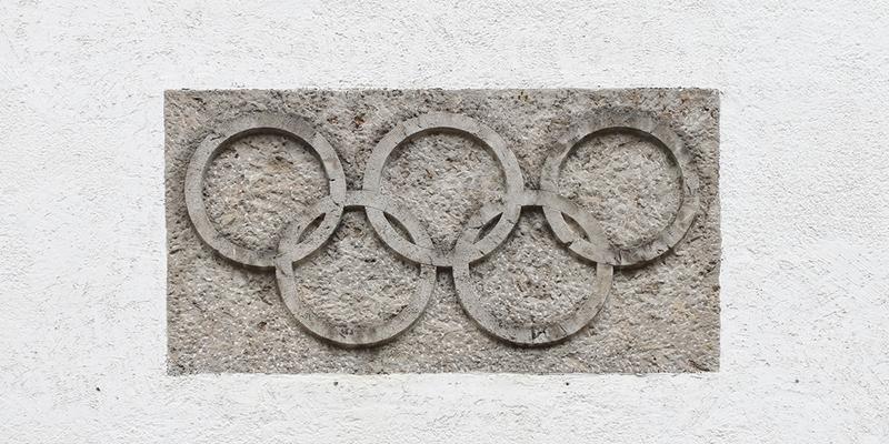 Логотип Олимпийских игр, фото