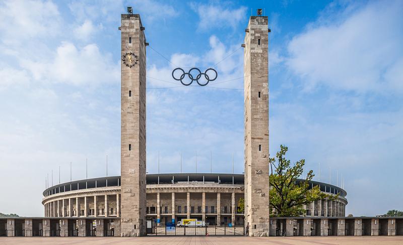 Стадион Олимпийских игр 1936 года, фото