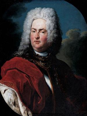 Князь-основатель Лихтенштейна, рисунок