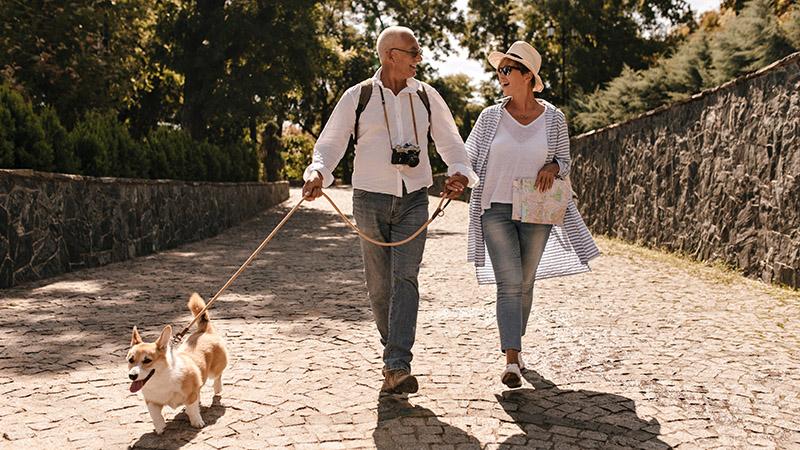 Пара немецких туристов, фото