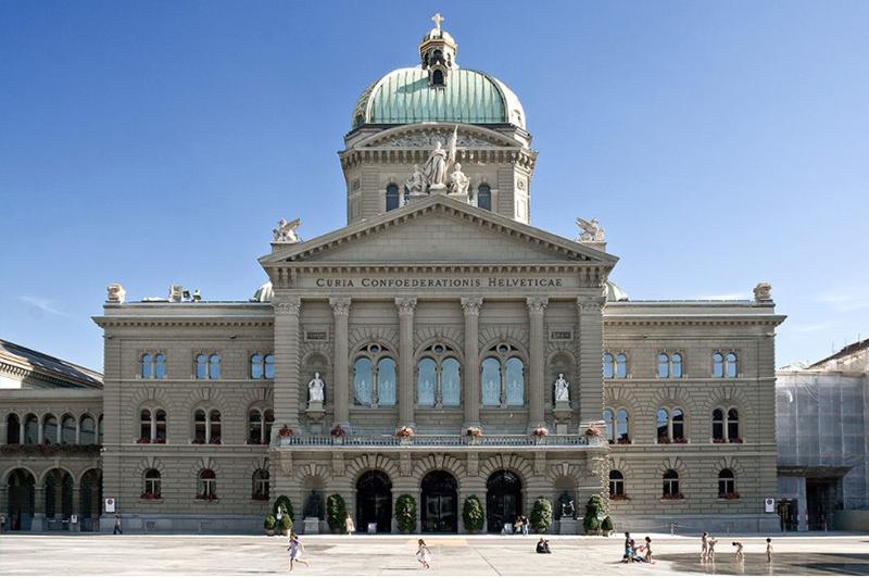 Парламент Берна, фото