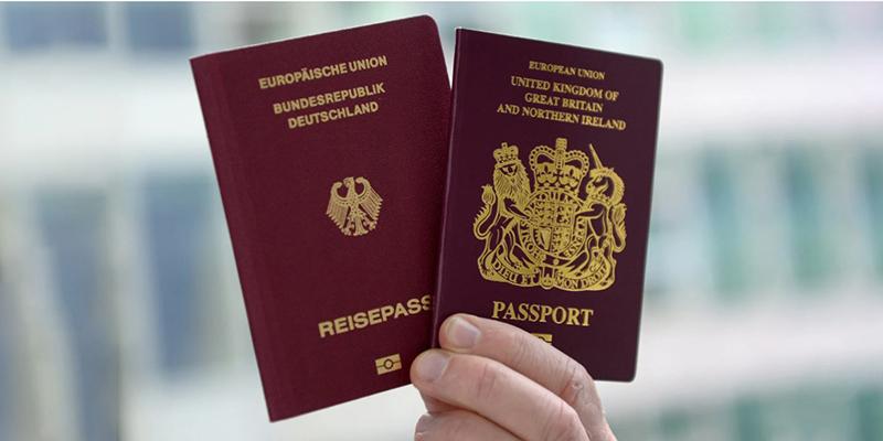 Два паспорта, фото