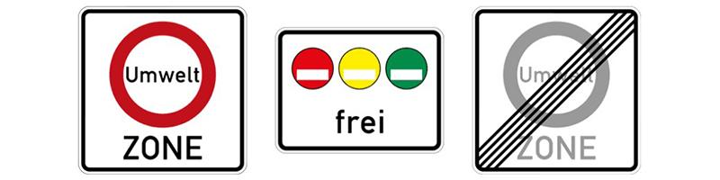 Знаки платной и бесплатной парковки