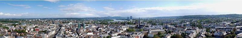Бонн, панорама