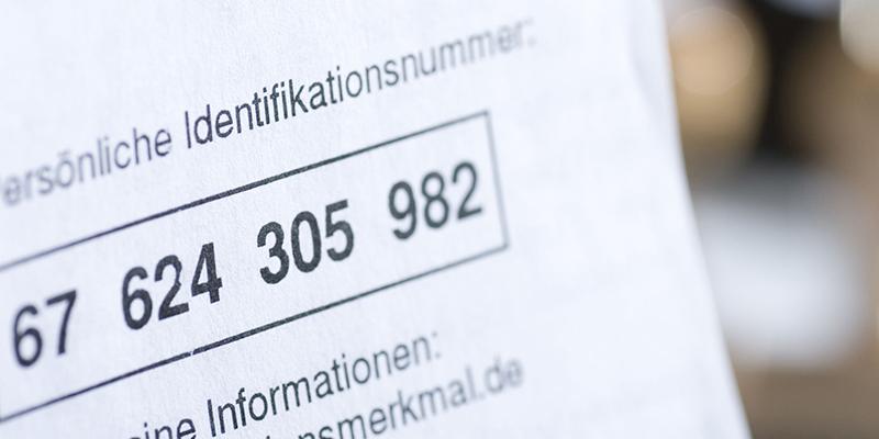 Налоговый номер в Германии, фото