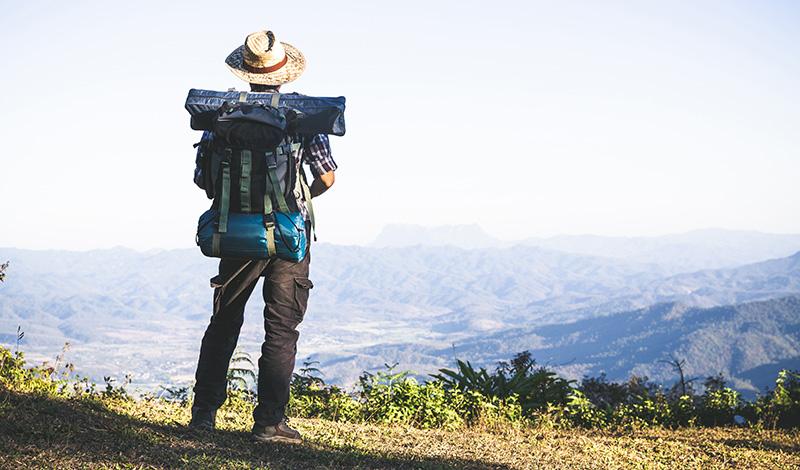 Турист, путешествие, фото