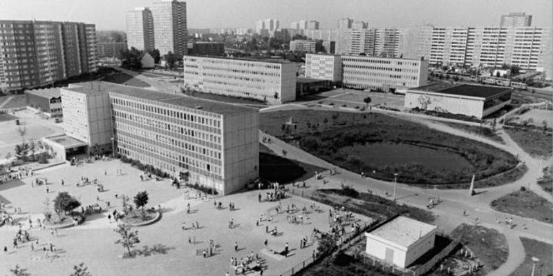 Жилой район ГДР