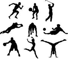 Menschen auf der ganzen welt sport treiben sport macht die menschen